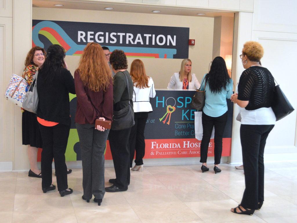 2017 forum registration table